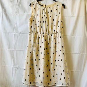 Women's sleeveless empire waist dress